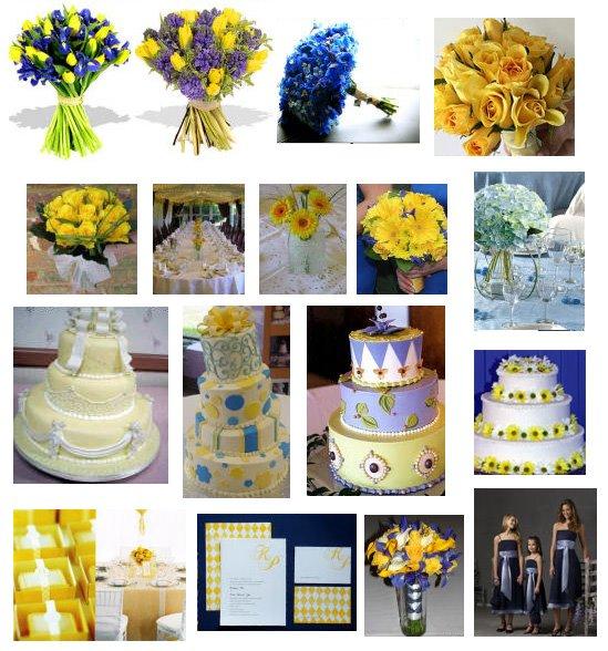 decoracao de casamento na igreja azul e amarelo:gostaria de fazer uma festa de 15 anos com estas cores decoração